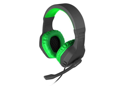 Геймърски слушалки Gaming Headset ARGON 200 GREEN NSG-0903