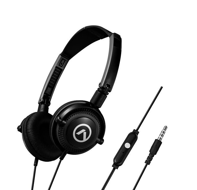 Symphony headphones with mic Black AM2005/BK