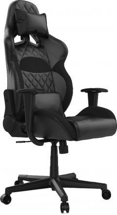 геймърски стол Gaming Chair -  ZELUS E1 L Black