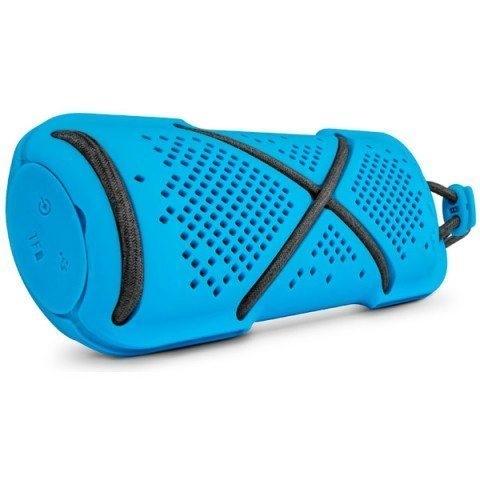 Mobile Bluetooth Stereo Speaker - D22 blue - microSD card