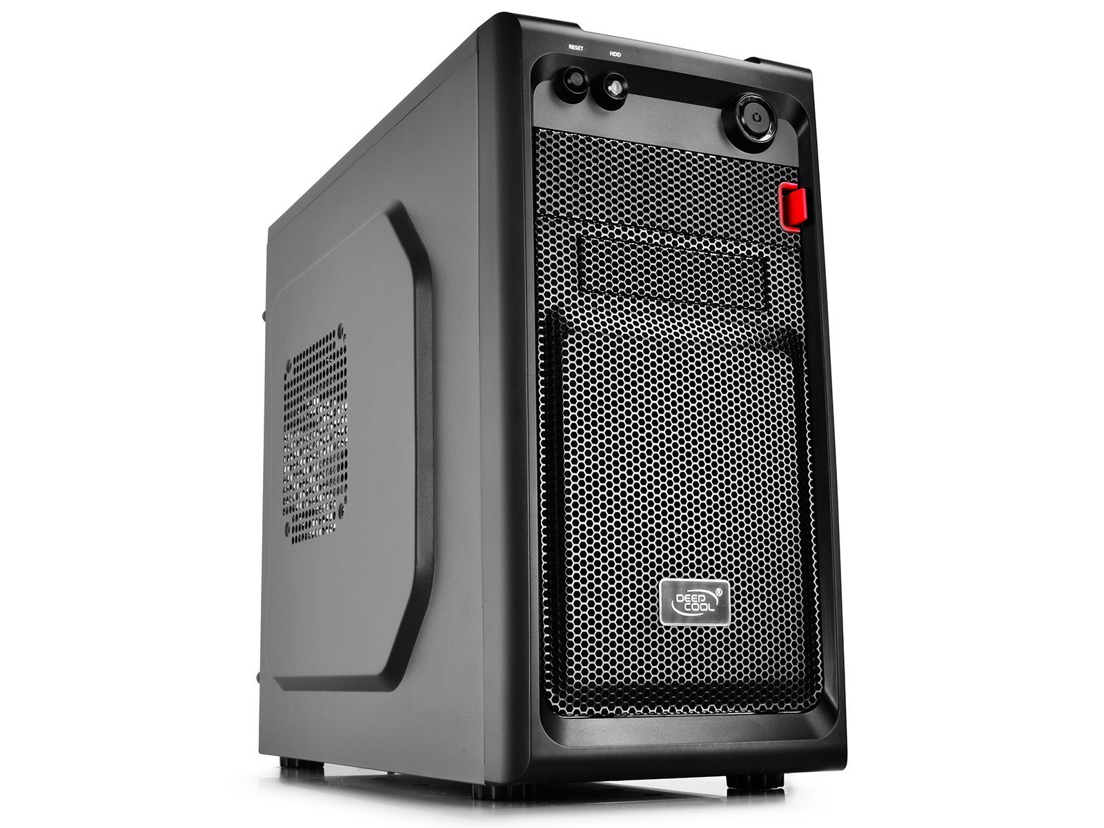 DeepCool Case mATX SMARTER - Black, USB3.0