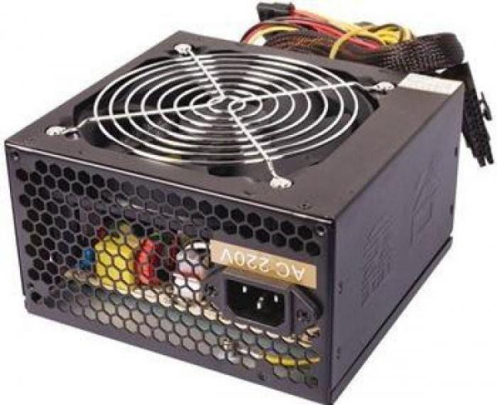 Захранване PSU ATX-500WH - 500W/PFC/PCI-E 6p/Black/120mm fan