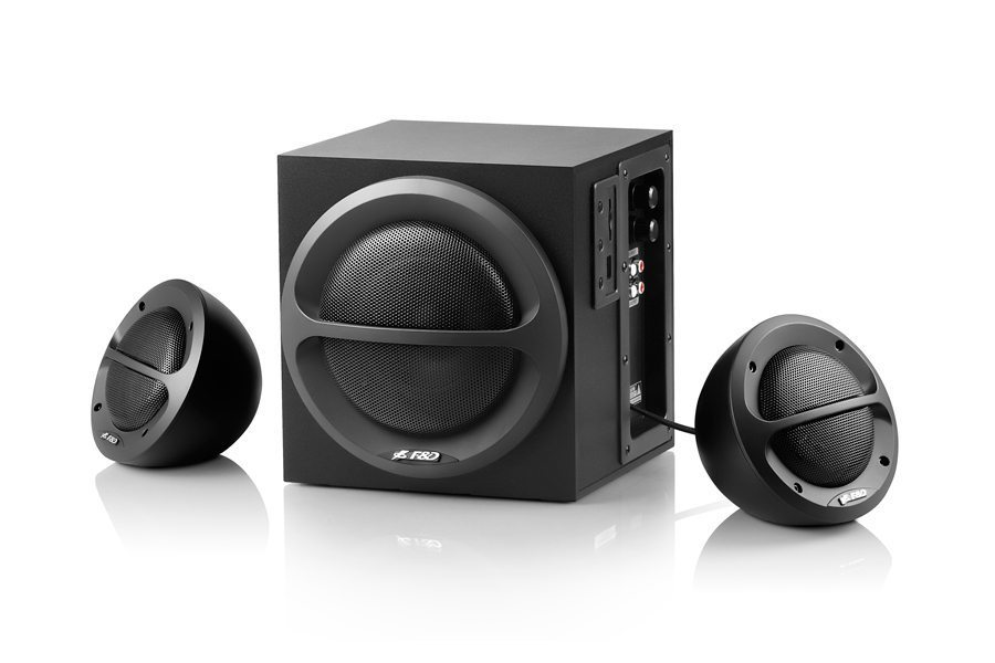 Speakers 2.1 - A111 - 35W RMS - USB/SD MP3/WMA Playback
