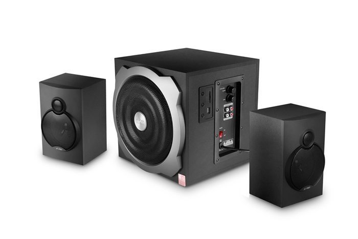 Speakers 2.1 - A521 USB/SD MP3 Playback - 52W RMS