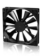Вентилатор Fan 140x140x25 2Ball (1200 RPM) - EC14025L12BA
