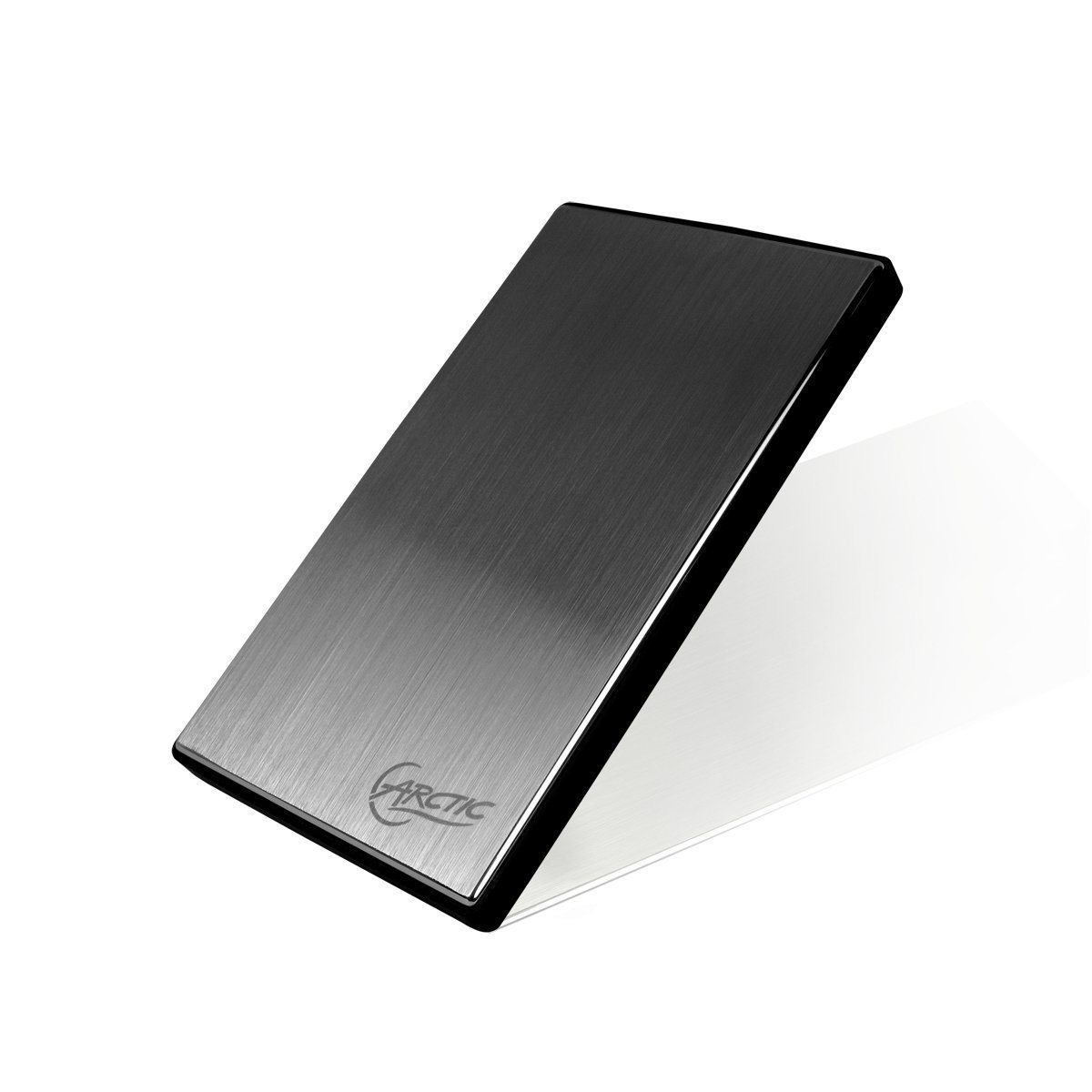 "2.5"" stainless steel HDD Enclosure SATA USB 3.0"