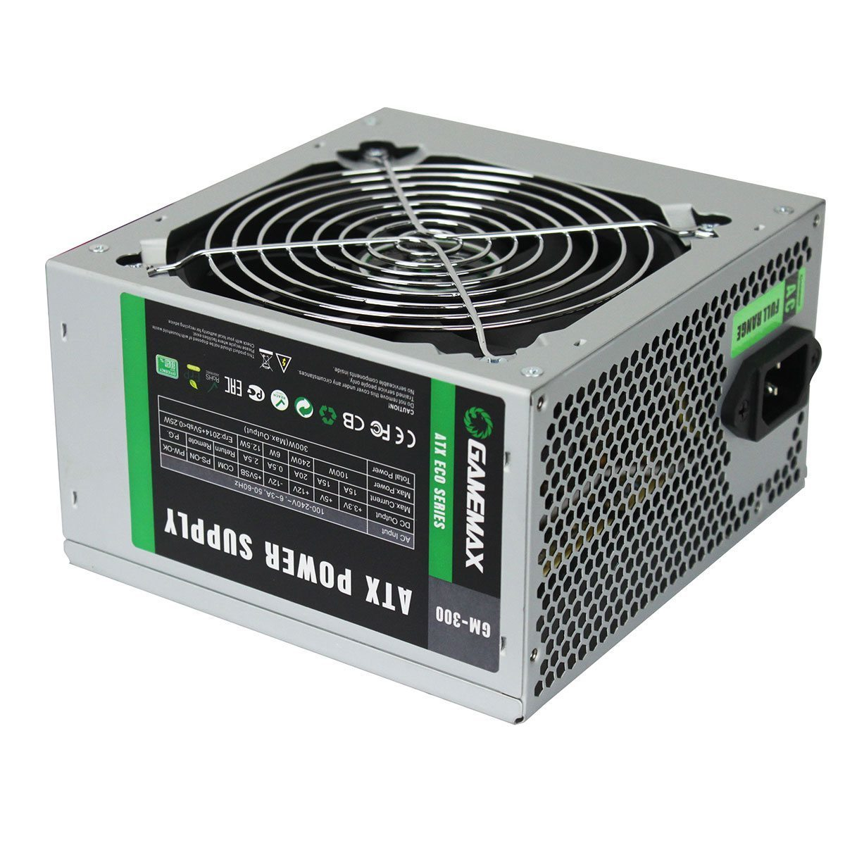 Gamemax захранване PSU 300W Bronze 85+ GM-300
