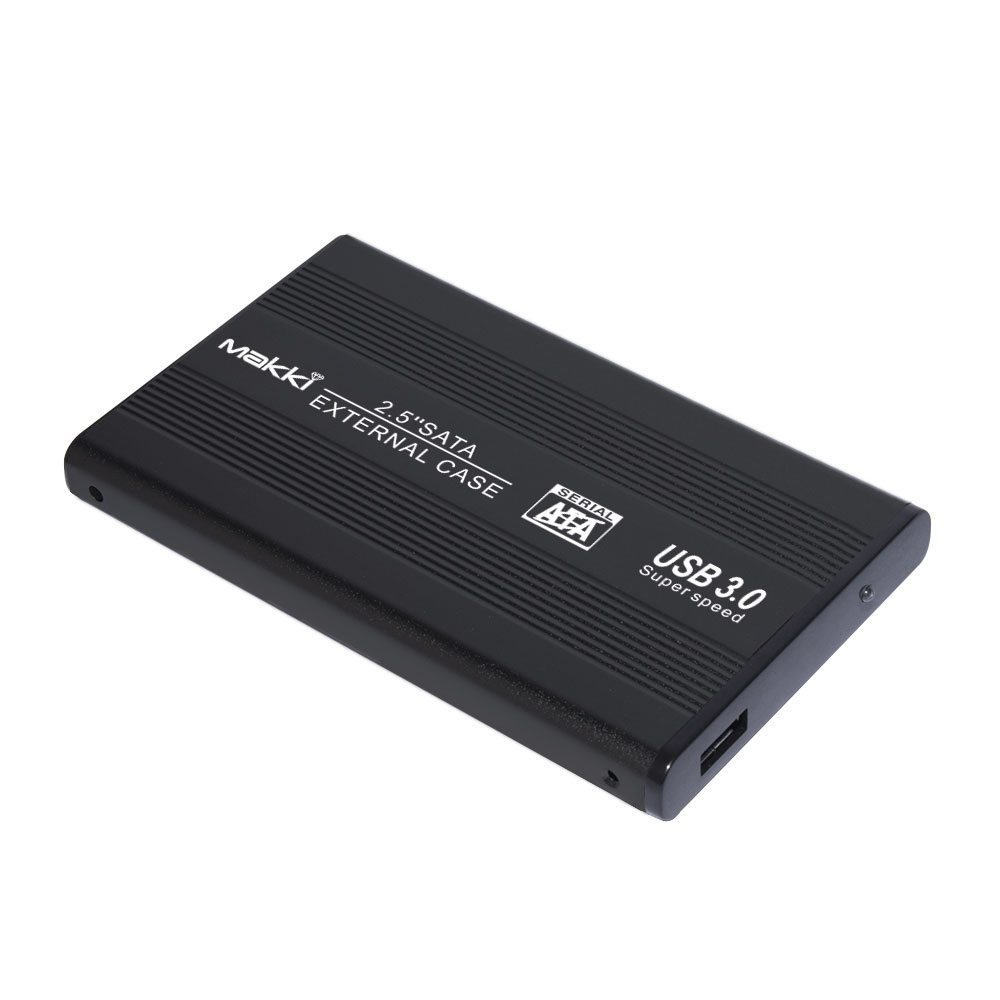 "External Case 2.5"" SATA USB3.0 Aluminium Black"