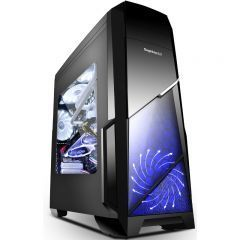 Кутия Case ATX SPRINT-BK - Sprint Black - USB3.0/2x120mm fans
