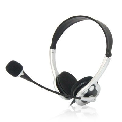 VCom Слушалки Headphones w/mic for Computer - DE133