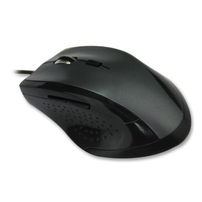 VCom Mouse Optical 1600dpi USB Black - DM101