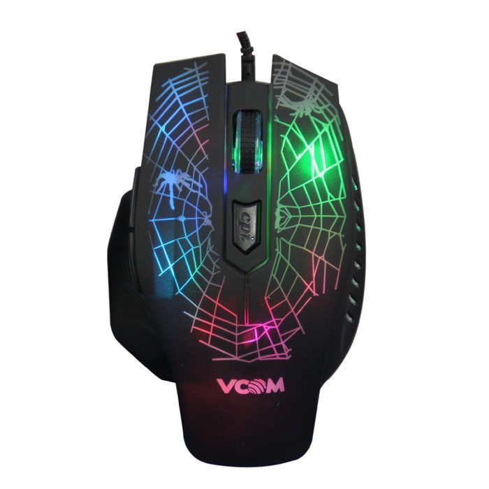 Мишка Mouse optical Gaming 2400dpi Color leds - DM418
