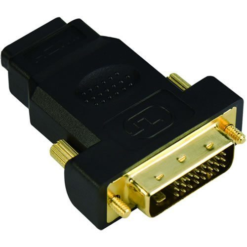 Adapter DVI M / HDMI F Gold plated - CA312