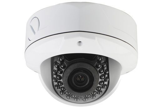 Охранителна камера IP HD Outdoor Metal Dome Camera - 1/2.9 Sony Low Illumination 2.4MP/1080P/2.8-12mm F2.0/IR 20m/PoE/White - LVWDC20S200-POE