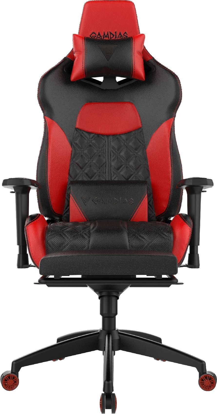 геймърски стол Gaming Chair - ACHILLES P1-L RGB Black/Red