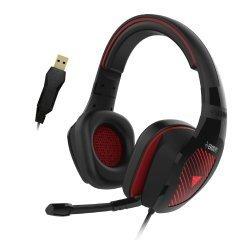 геймърски слушалки Gaming Heaphones USB - EROS M1 RGB