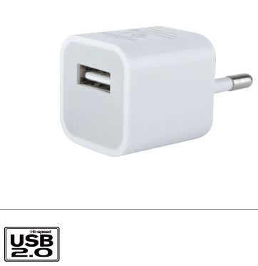 USB Travel Charger 28003 - White