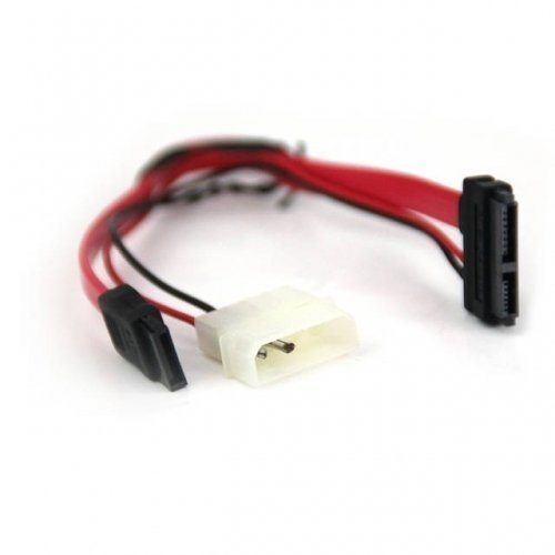 Adapter SATA + Molex to SATA Power/Data for Slim DVD - CE361-0.15m