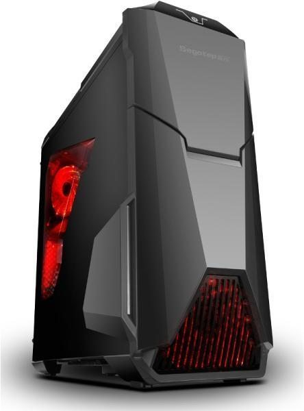 Segotep Кутия Case ATX WarShip EVO Black - USB3.0/3x120mm fans
