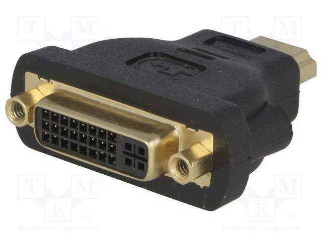 Адаптер Adapter HDMI M/DVI-D F 24+1 - CA311
