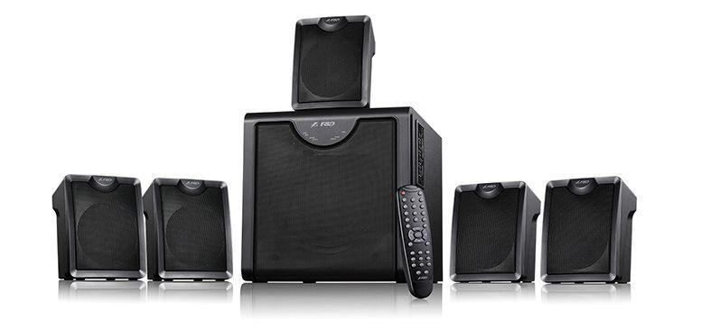 Speakers 5.1 Bluetooth - F2300X - 65W RMS - NFC/USB+SD MP3/FM/Remote