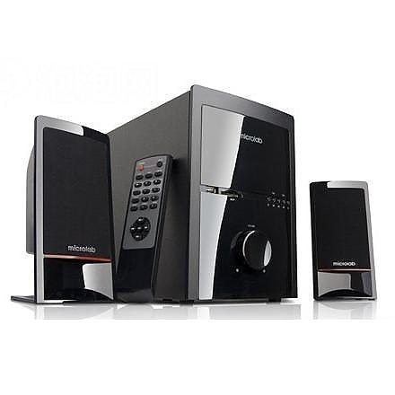 Speakers 2.1 M700U black - USB/SD/FM/Remote 46W RMS