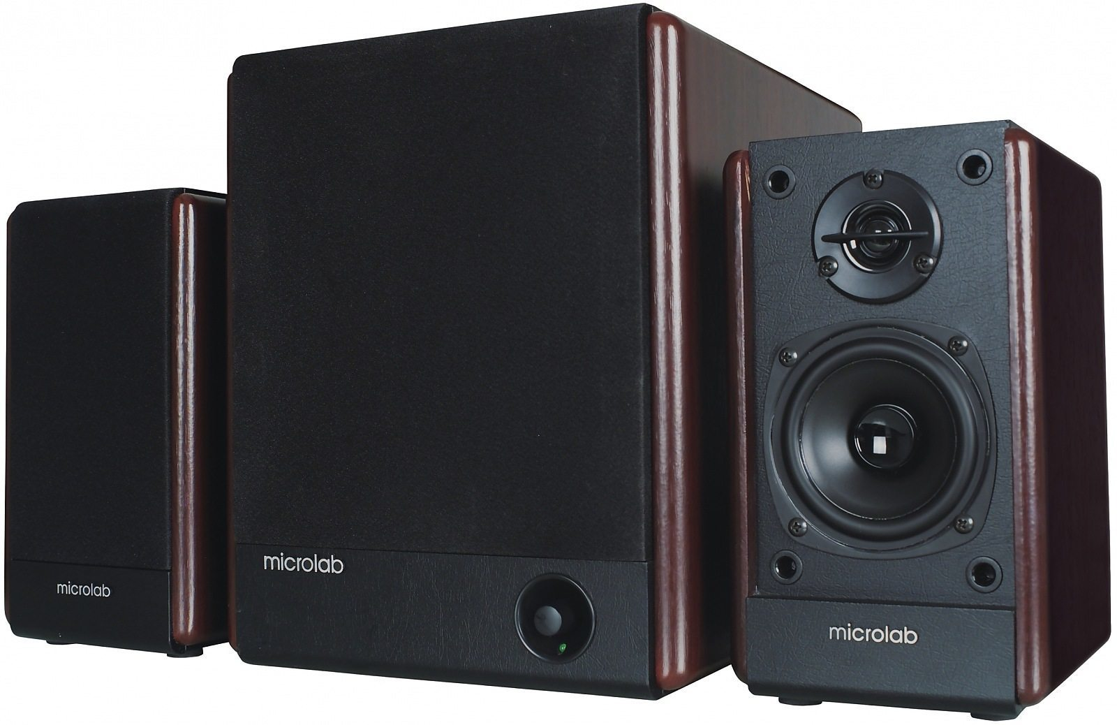 Speakers 2.1 FC330 wooden 56W RMS