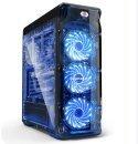 Case ATX SG-LUX-BK - LUX Black - USB3.0/3x120mm fans