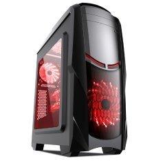 кутия за компютър Case ATX Gaming - MAKKI-8801BR