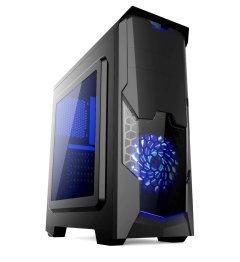 кутия за компютър Case ATX Gaming - MAKKI-8804BL