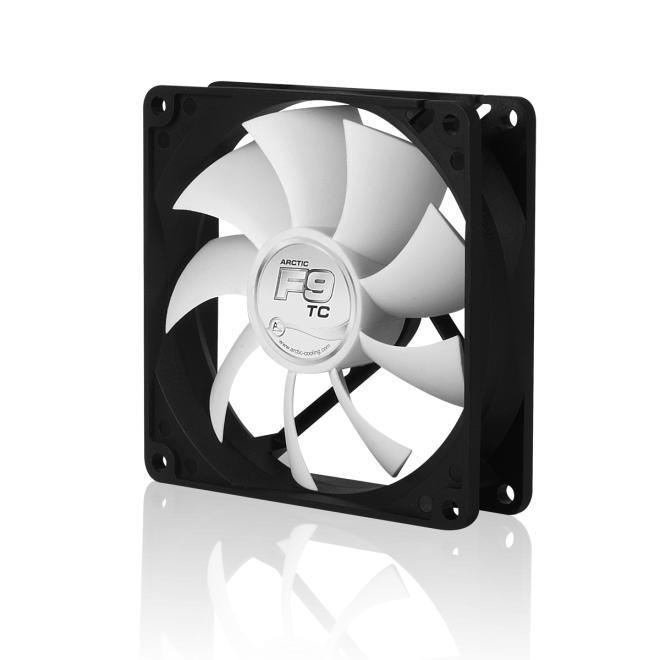 Arctic Fan F9 TC - 92mm/400-1800rpm