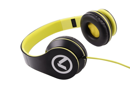 Слушалки Low Ryders - Headphones Black & green AM2003/BKG