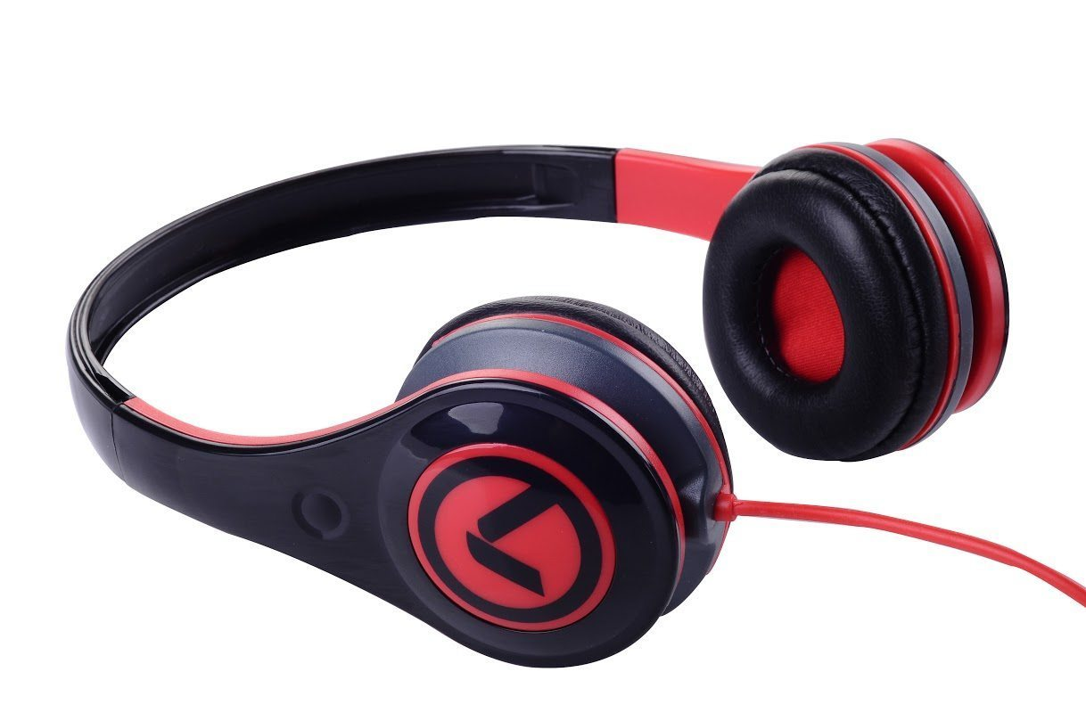 Amplify Слушалки Freestylers - Headphones (Black & red) AM2002/BKR
