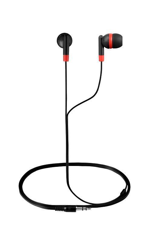 Amplify Слушалки Revolutionary In-earphones Black&red AM1001/BKR