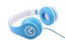 Слушалки Low Ryders - Headphones Black & white AM2003/BW