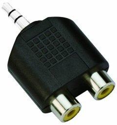 Адаптер Adapter 3.5mm Stereo M / 2x RCA F - CA501