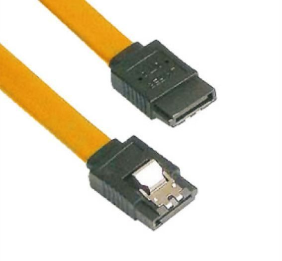 Кабел SATA Cable W/Lock - CH302-Y 0.45m