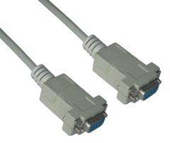 Serial Port DB9 4C Molded F / F - CM043-1.5m