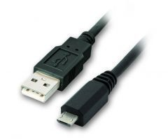 Кабел USB 2.0 AM / Micro USB M 2.5A - CU271-1m
