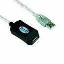 Кабел удължение USB Extension W/IC - CU823-20m