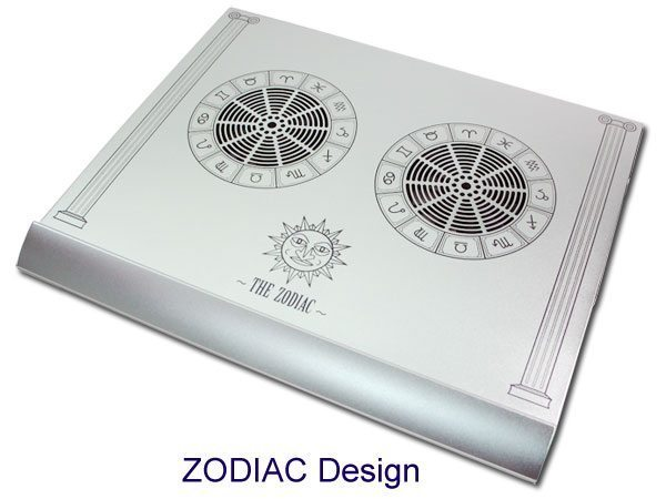 Notebook Cooler Aluminium alloy - The Zodiac