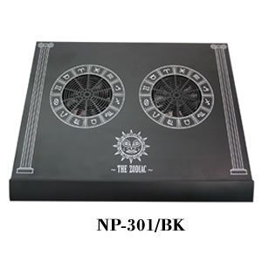 Notebook Cooler Aluminuim alloy - The Zodiac BK