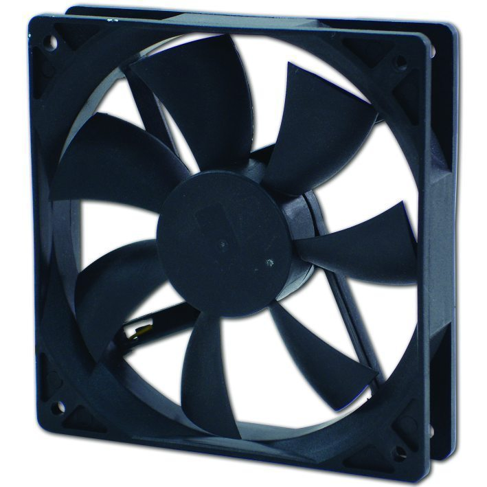 Evercool Вентилатор Fan 120x120x25 2Ball (1200 RPM) EC12025SL12BA