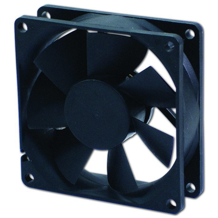 Evercool Fan 80x80x25 Sleeve 2500rpm - EC8025M12SA