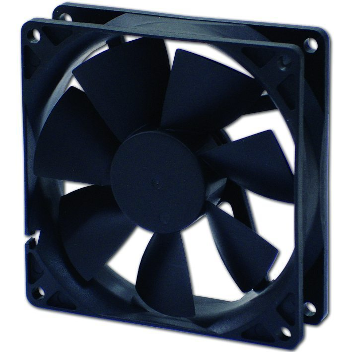 Evercool Вентилатор Fan 92x92x25 2Ball (1500 RPM) EC9225LL12BA