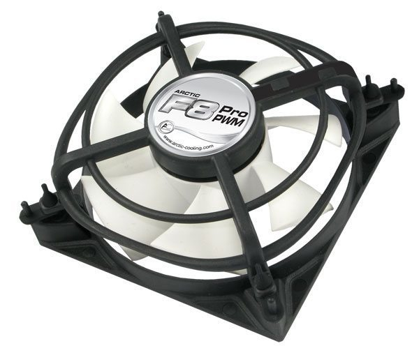 Вентилатор Arctic Fan F8 Pro PWM - 80mm/700-2000rpm