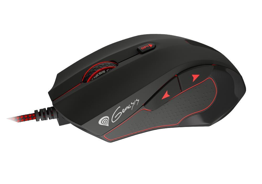 Genesis Геймърска мишка Gaming Mouse GX75 Optical 7200dpi USB