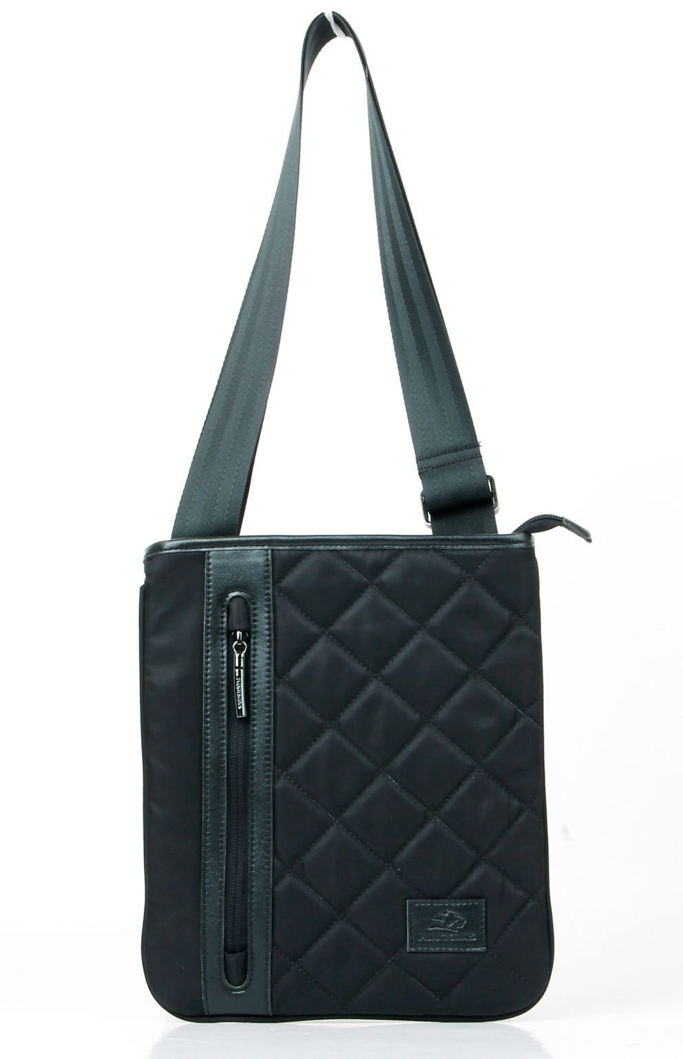 "Tablet Bag 10.1"" K8412W-B :: Annette Series - Black"
