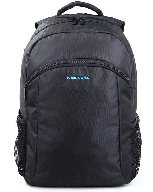"Kingsons Laptop Backpack 15.6"" K8569W :: Panther Series - Black"