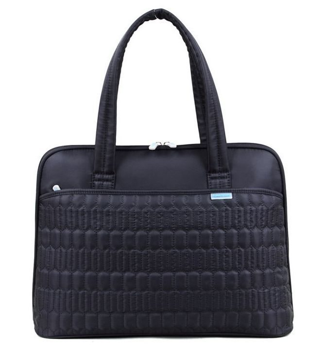 "Laptop Bag 15.4"" K8690W-B :: Valentine series - Black"